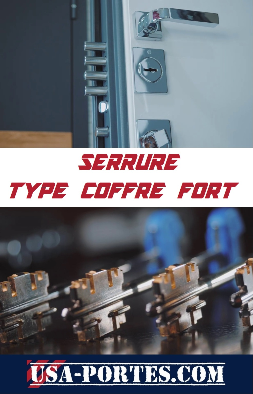 serrure type coffre fort blindee portes pas cher